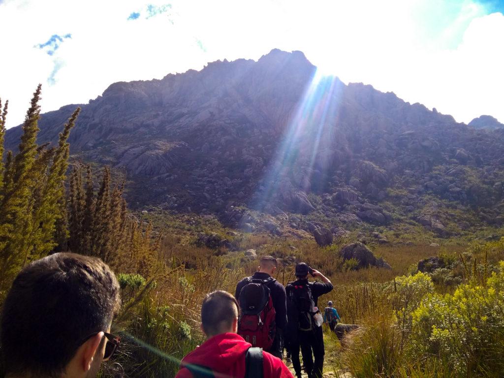 Começo da trilha rumo ao Pico das Agulhas Negras a 2.791 metros de altitude